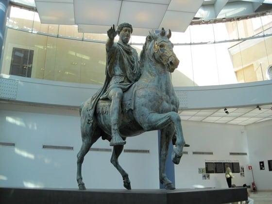 marco Aurelio en los Museos Capitolinos