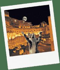 Disfrutar Roma de noche