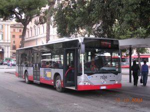 Autobuses en Roma 1
