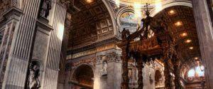 Altar basilica de San Pedro