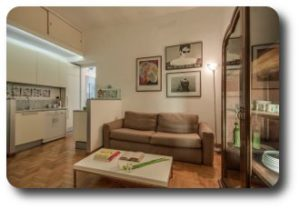 apartamento en Roma Trastevere cosimato