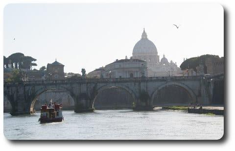 Roma en Barco