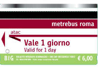 billetes transporte roma 24h