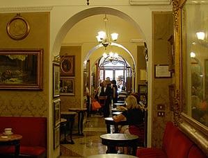 caffe Greco en Roma Plaza de España