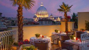 cenas privadas en roma