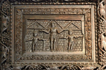 Arte en Roma puerta de Santa Sabina