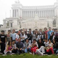 visita guiada para un grupo escolar en Roma