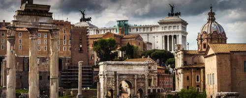 Monumentos de Roma en el Foro Romano