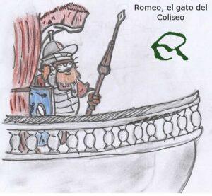 dibujo coliseo romano