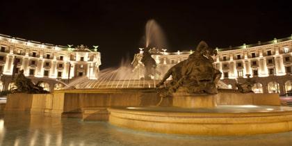 hoteles en plaza de la Repubblica