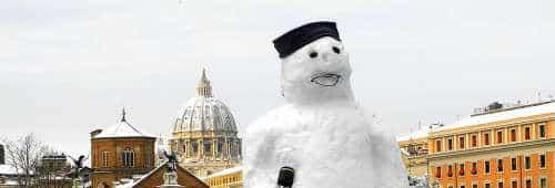 Que hacer en Roma: Invierno