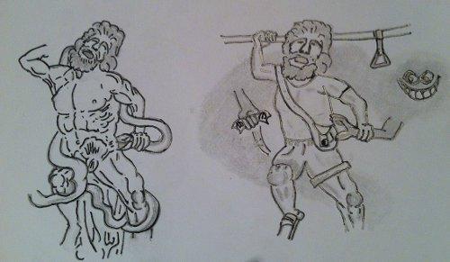 laocoonte-roma-dibujo