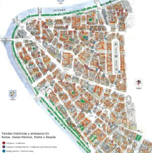 Mapas para visitar Roma 2