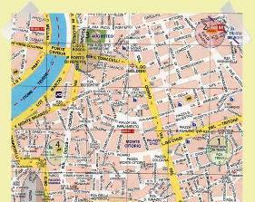 mapa Roma Centro