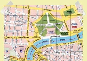 mapa castillo santangelo