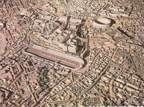 mapa roma antigua centro
