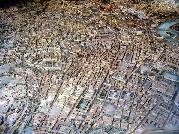 mapa roma antigua