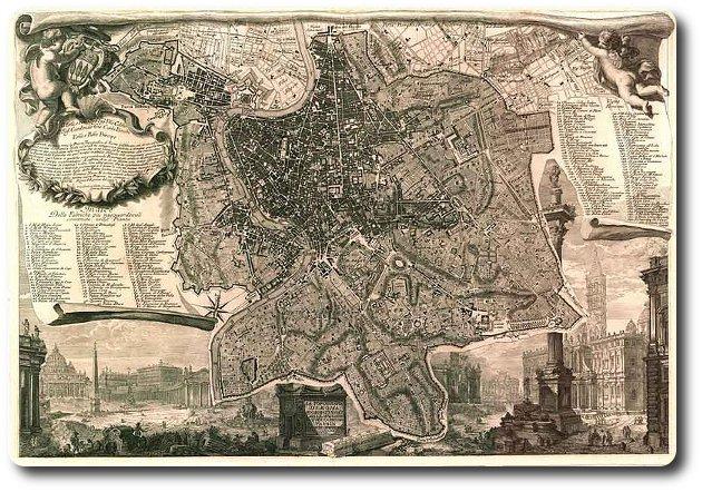 mapa roma nolli