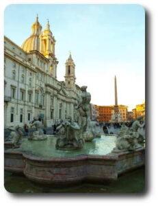 Calles de Roma navona
