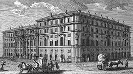 palacio propaganda fide plaza españa roma