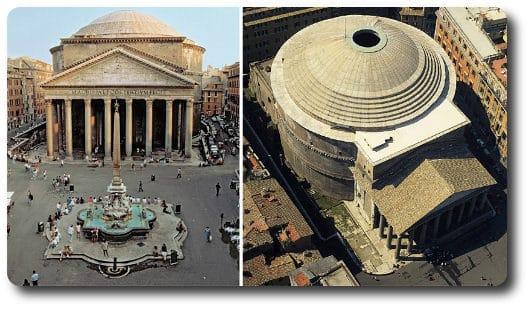 Panteón de Roma edificado por Agripa