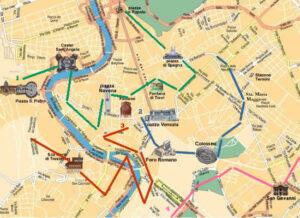 Mapas para visitar Roma 1