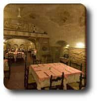 Restaurantes en el centro de Roma Re degli Amici