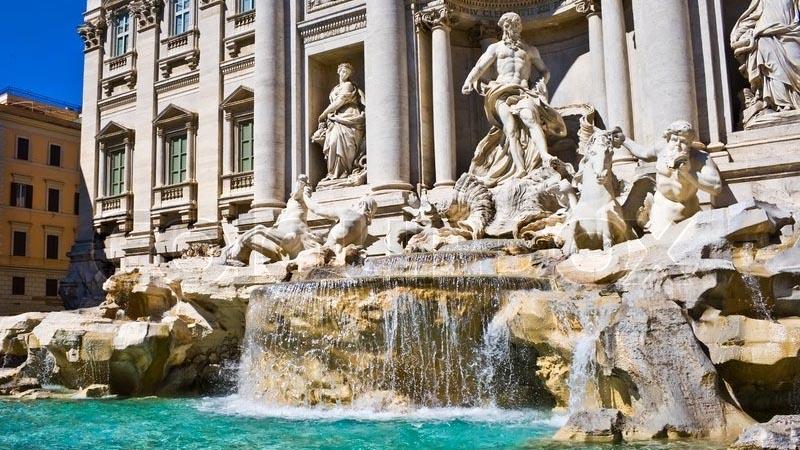 Restaurantes en Roma centro cerca de Fuente Trevi