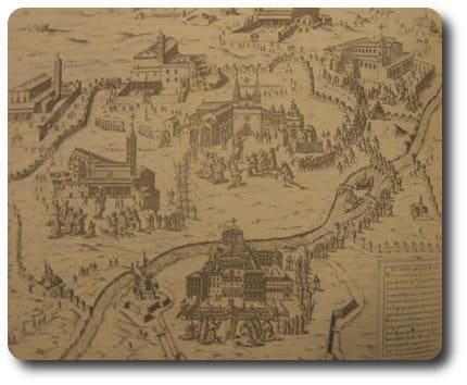 mapa siete iglesias