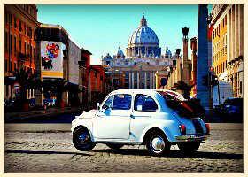 Roma en Vespa 3