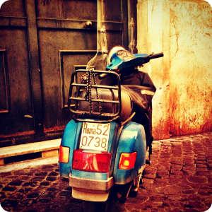 Roma en Vespa 6