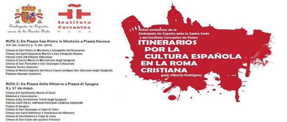 visita Roma en español con el Cervantes