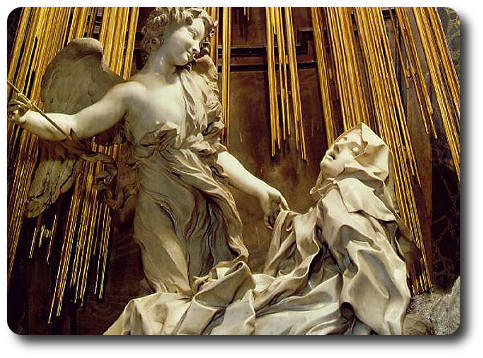 visita lugares santa Teresa en Roma