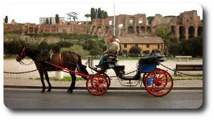 visitar-roma-carroza