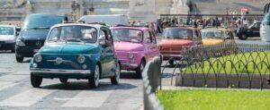 tour Roma en Fiat 500