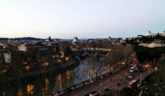 Vistas Roma al atardecer y paseo por Roma Literaria