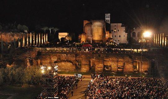 via crucis Semana Santa en roma