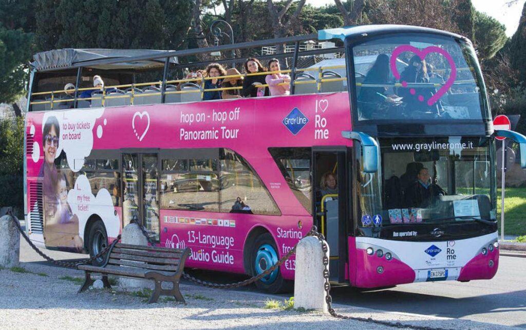 Autobús turístico en Roma: Tour Panoramico