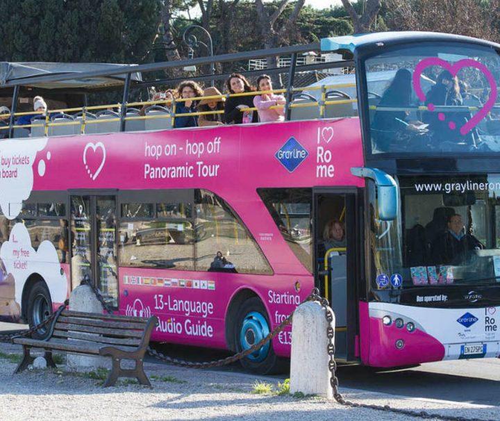 Autobús turístico en Roma: Tour Panorámico