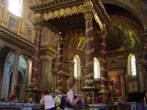 Basílica de Santa María Mayor altar