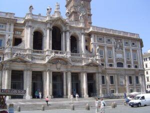 Basílica de Santa María Mayor fachada