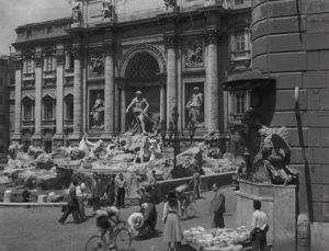 Fuente de Trevi en la película Vacaciones en Roma
