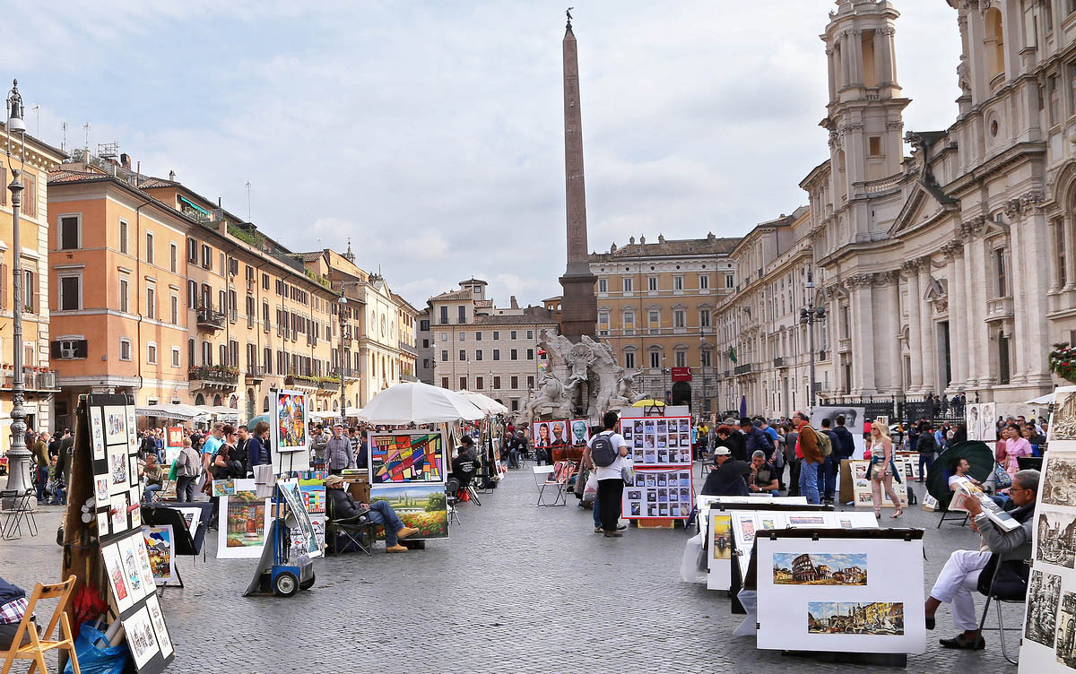 Plazas de Roma: Tour Privado