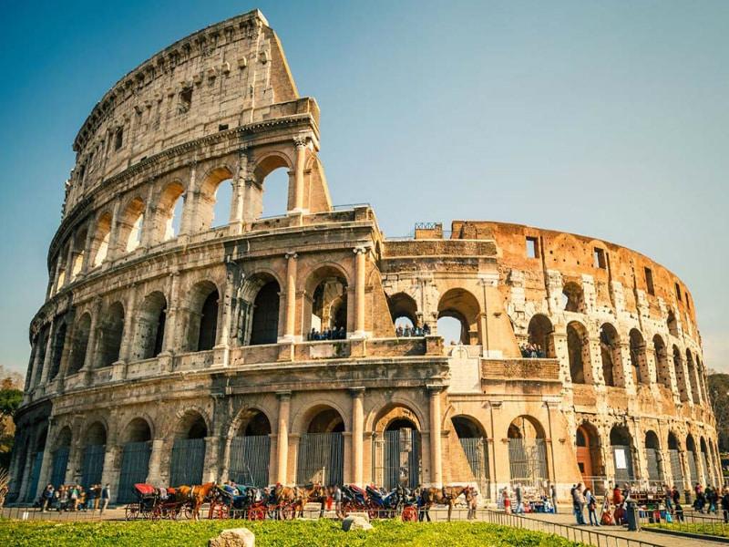 Tour Coliseo, Foro y Palatino