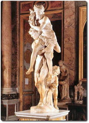 Galeria Borghese Eneas de Bernini
