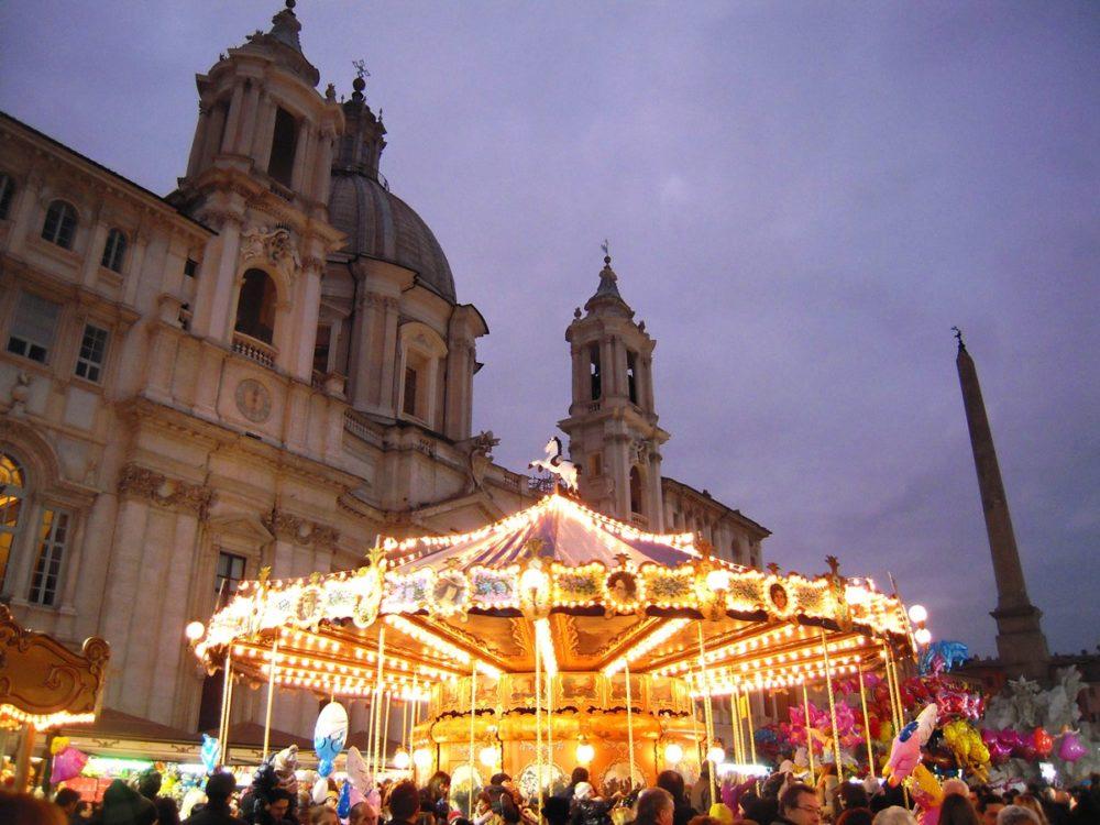 Navidades en Roma en Plaza Navona