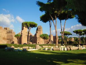 Visita del Palatino en Roma