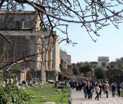 Via Sacra en el Foro Romano