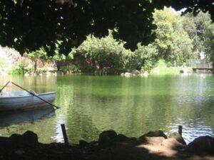 lago de Villa Borghese