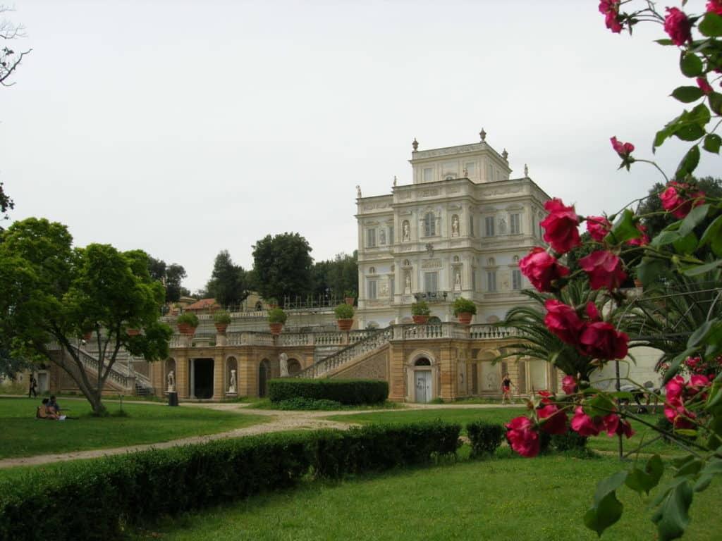 Villa Pamphilij parque de Roma